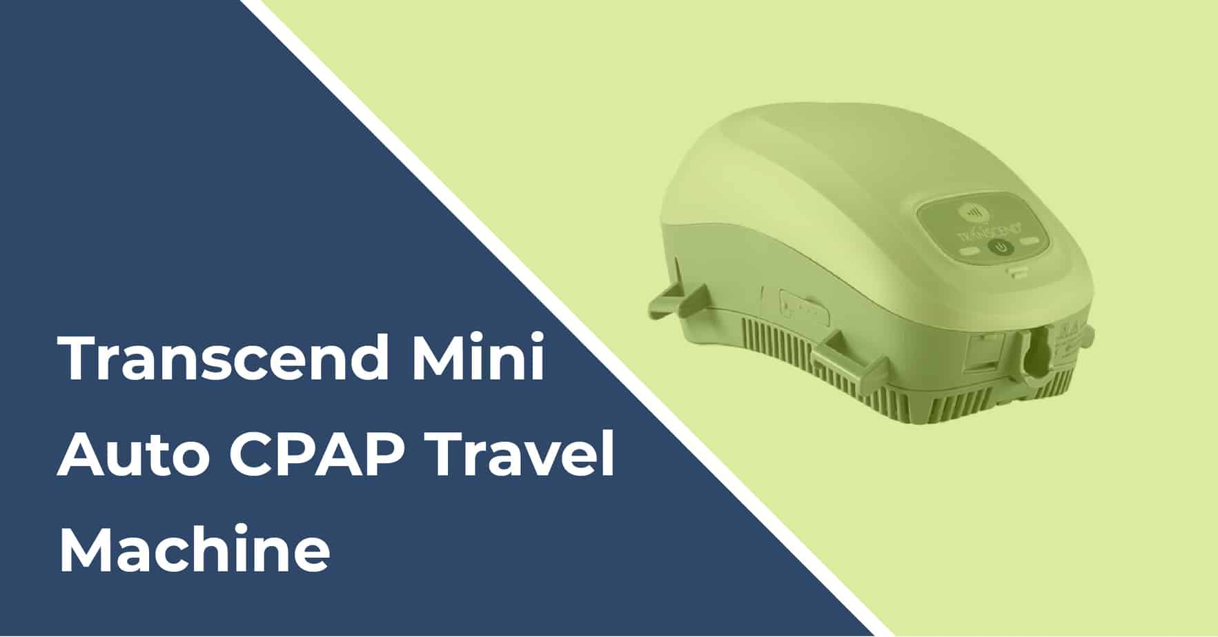 transcend mini auto cpap travel machine