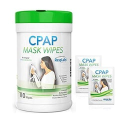 resplabs cpap mask wipes
