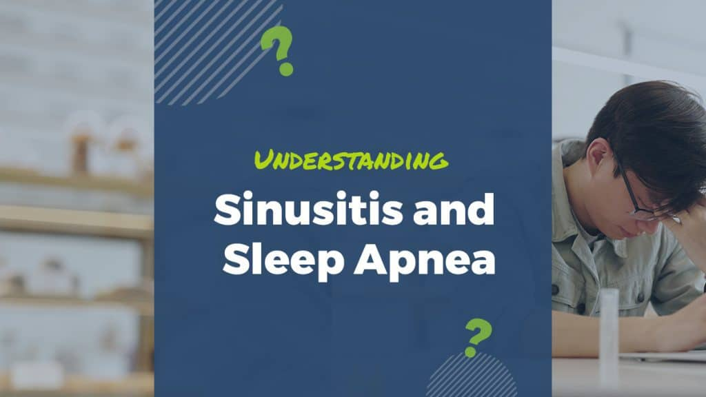 sleep apnea and sinitus