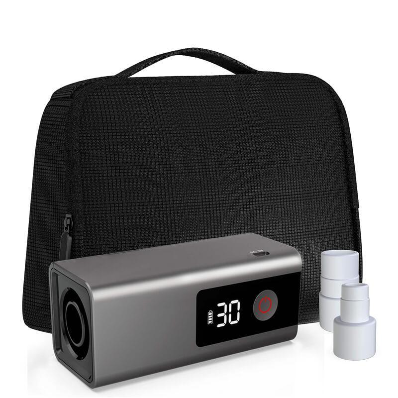 portable sanitizer black