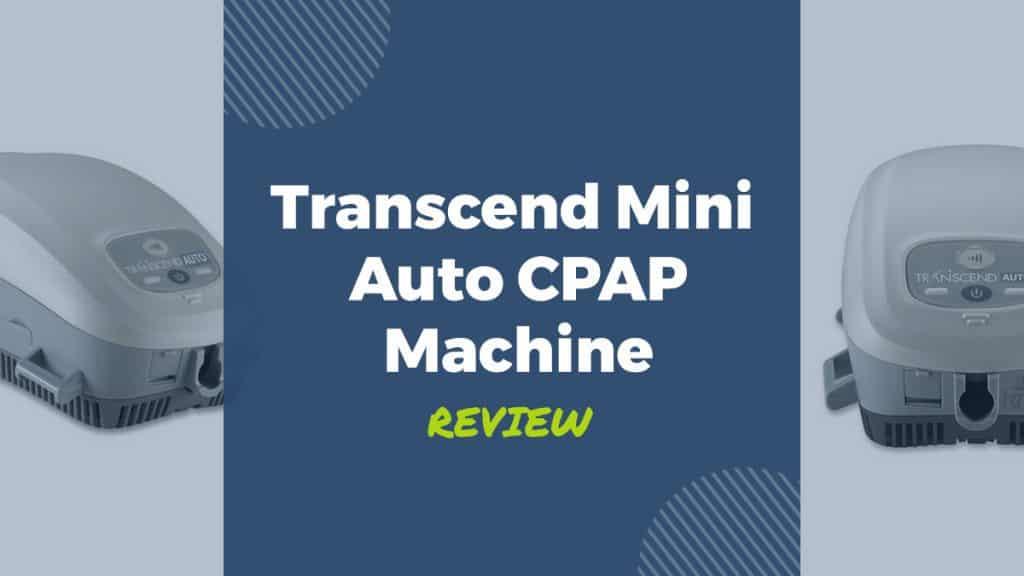 Transcend Mini Auto CPAP Travel Machine