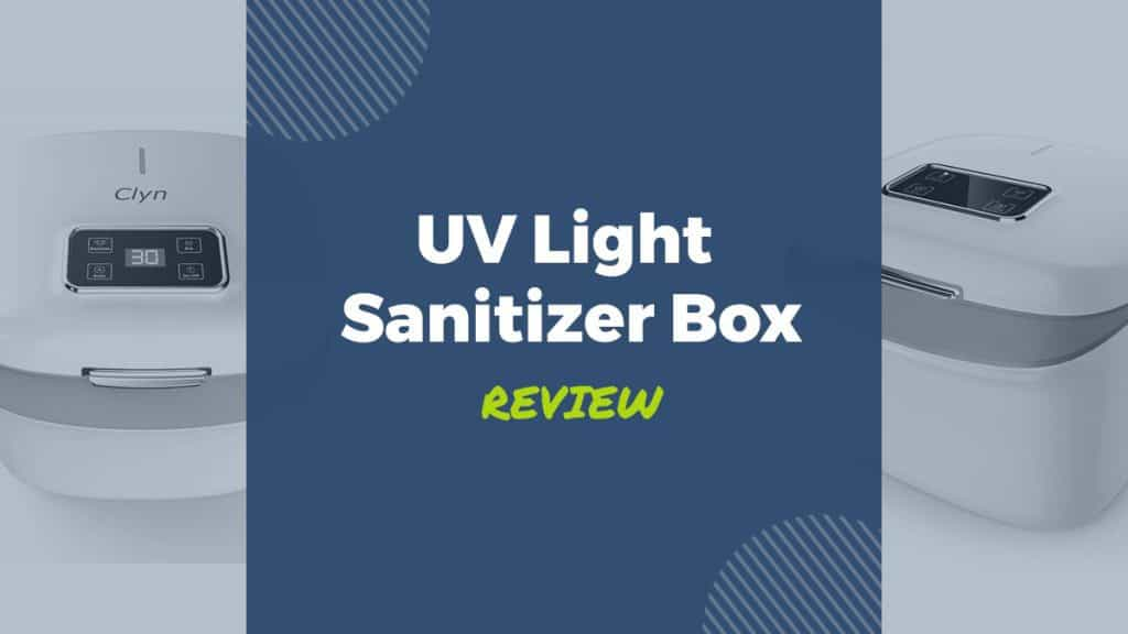 uv light sanitizer box review
