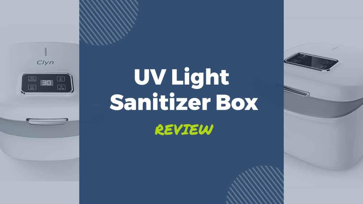 uv light sanitizer box review