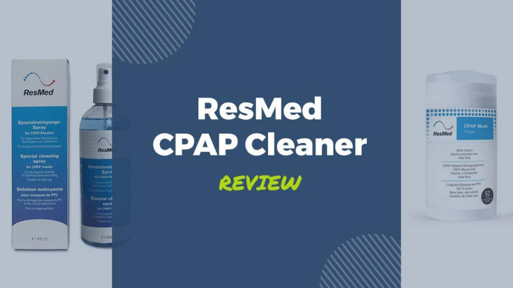 resmed cpap cleaner cpap mask