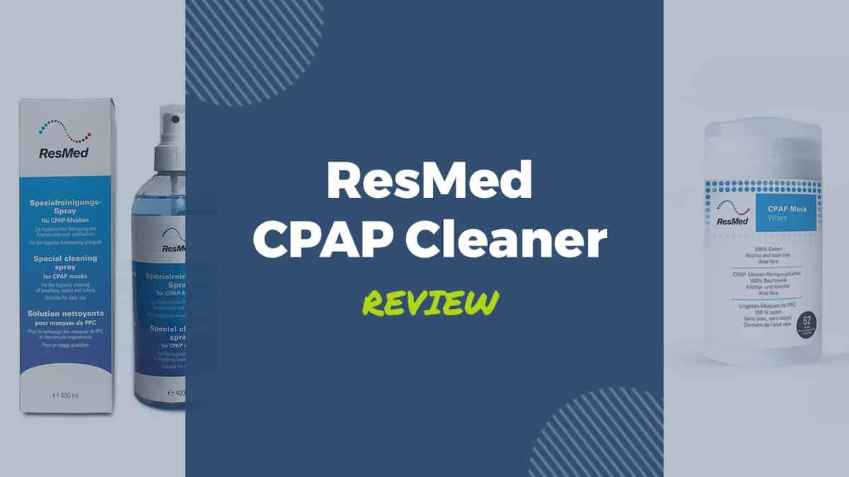 resmed cpap cleaner cpap mask